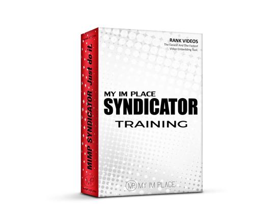 Syndicator Exclusive Training